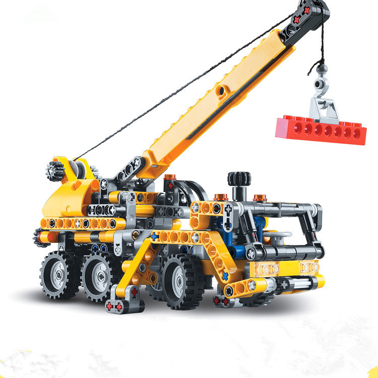 Decool 3349 Mobiele grues Technologie Serie bouwsteen jouets set pour Enfants cadeaux d'anniversaire livraison gratuite 8067