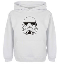 Unisex Fashion Popular Star War Design Hoodie Men's Boy's Women's Girl's winter jacket Sweatshirt For Birthday Parties