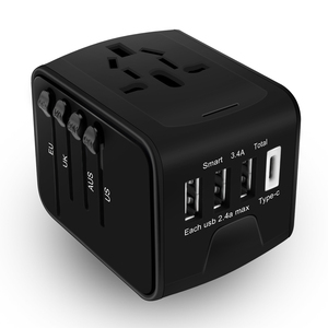 TENACHI Travel Adapter with 3