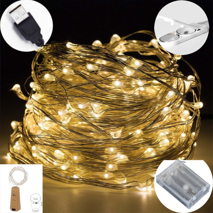 CELONT Holiday Lighting led string lights battery powered ...