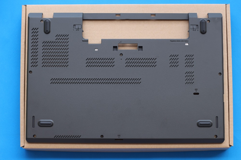 New Original for Lenovo ThinkPad T560 P50S Bottom Base Cover Lower Case Shell 00UR847 new original for lenovo thinkpad x240 x240i base cover bottom case 04x5184 0c64937