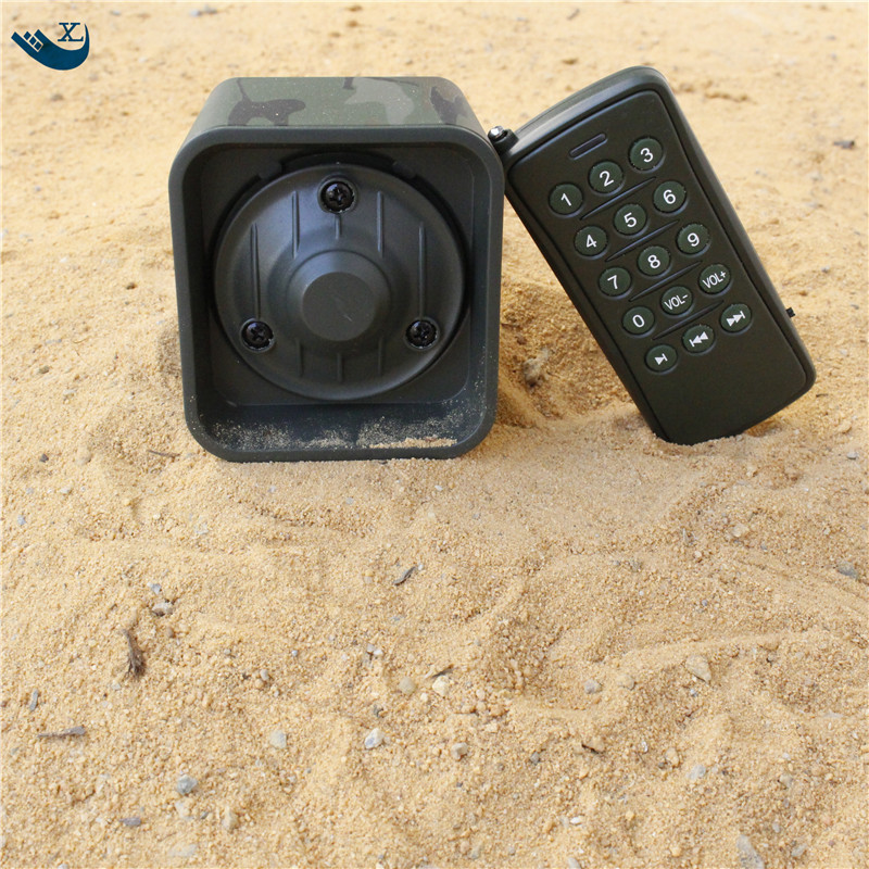 US $78 12  50W Speaker Hunting Bird Sound Mp3 Player Duck Hunting Sounds  Caller Hunting Decoy Electronic Bird Calls With Remote Control-in Hunting