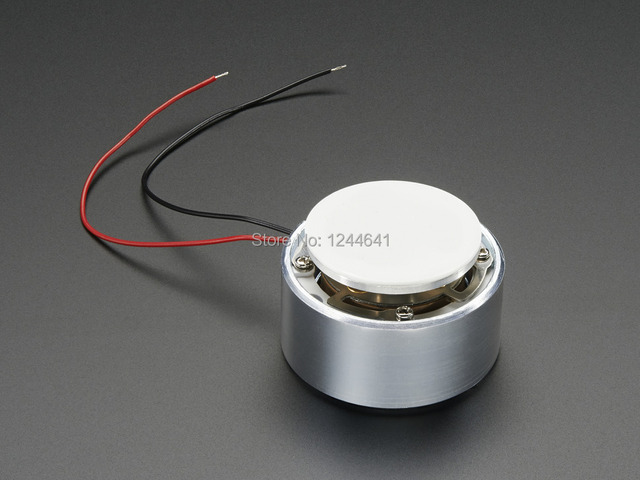 Large Surface Transducer with Wires - 4 Ohm 5 Watt 4K 5W Free Tracking Number