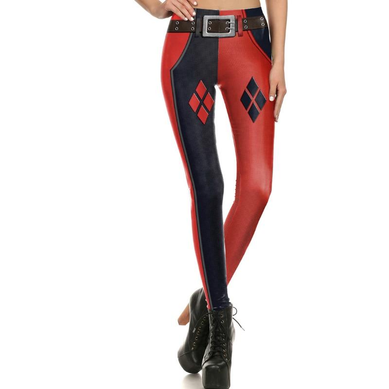 Legging set S-XL legging set Harley Quinn Super Hero printed Sleeveless Bra