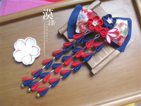 2019 Japanese Handmade Ornaments Hairpin Flower Hairpin Hair Clip Party Bow Headwear O