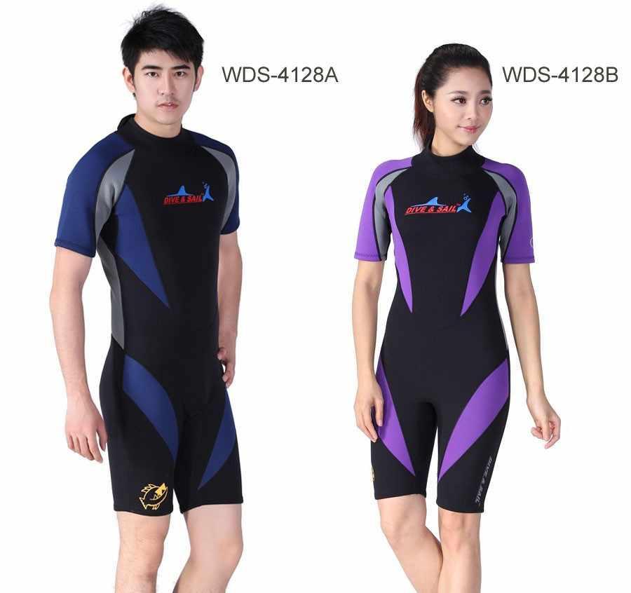 Gloednieuwe Wetsuit Premium Neopreen 3mm/1mm, Jumpsuit Duikpak, Volledige of Shorty 9 Ontwerpen voor Selectie