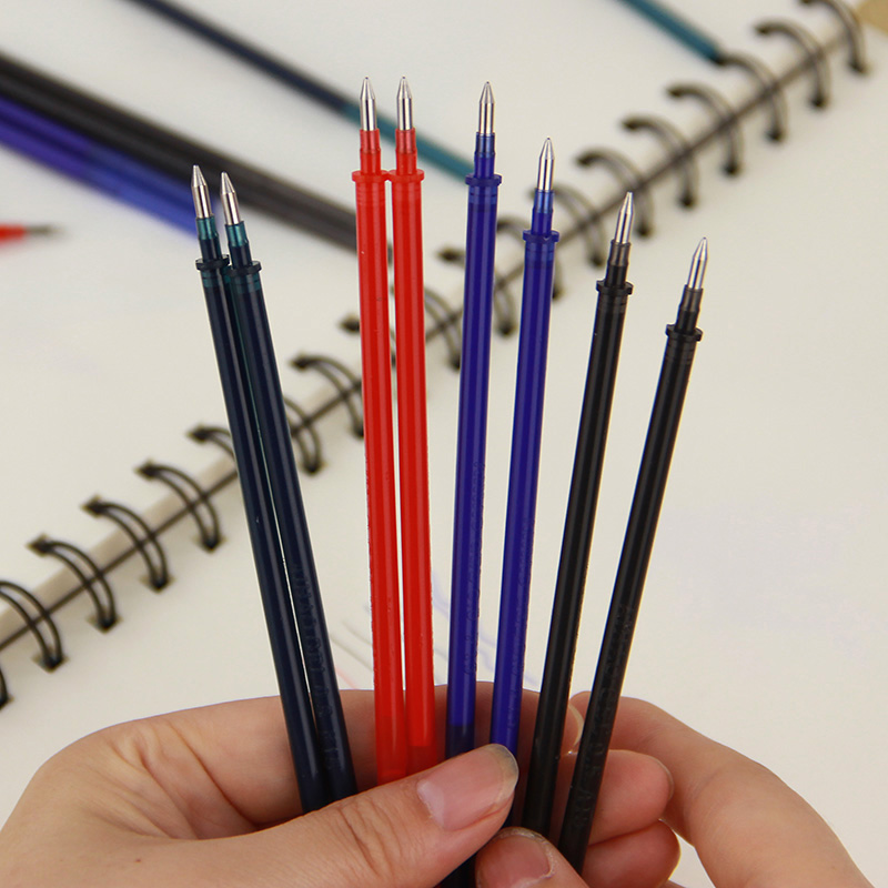 Image result for red pen with blue refill