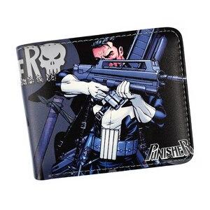 Кошелек Marvel Hero Punisher /Deadpool /X-Man, защитный кошелек с монетницей, новое поступление