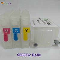 H932XL 933XL New And Hot Refillable Ink Cartridge For Officejet 6100 6600 6700 7110 7610 Printer