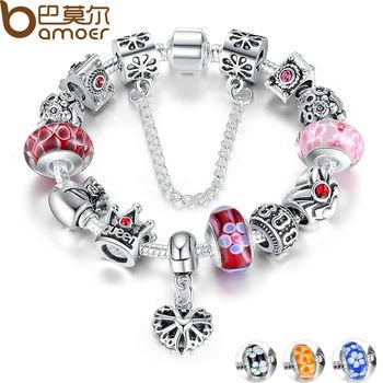 Silver Charms Bracelet & Bangles