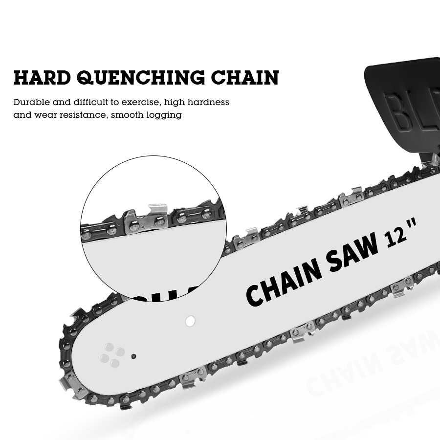 11.5 นิ้ว 12 นิ้วลูกโซ่ปรับUniversal M10/M14/M16 Chain Saw Partเครื่องบดมุมเลื่อยโซ่