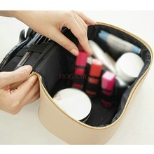 Travel portable multi function large capacity cute simple cosmetics girl heart cosmetic