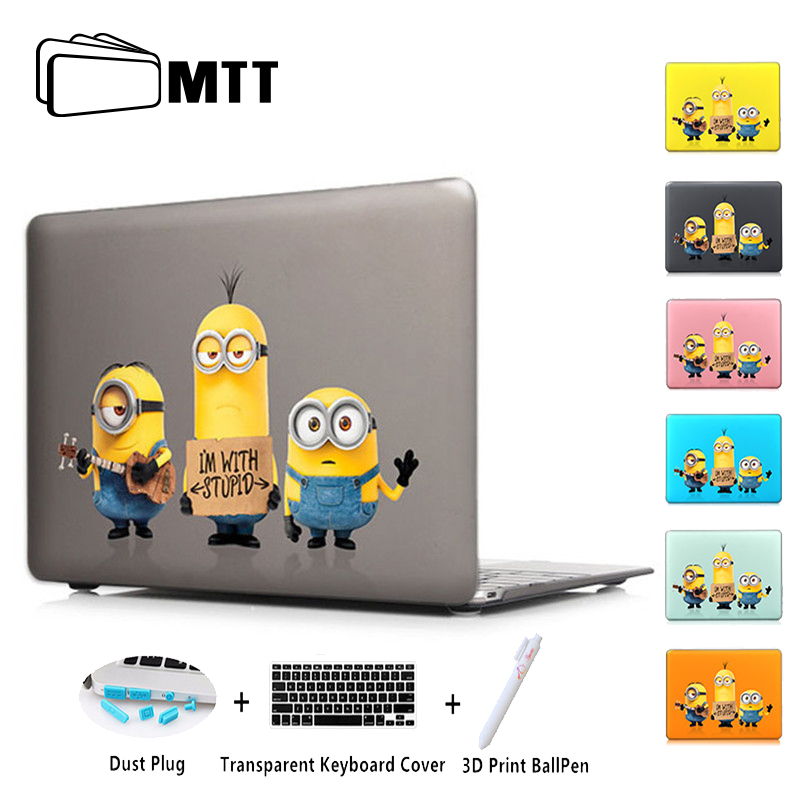MTT 2016 2017 New For Mac Book Pro 13 A1706 Pro 15 A1707 Color Crystal Hard Case For Macbook Pro Retina 15 Air 11 12 13.3 Inch ...