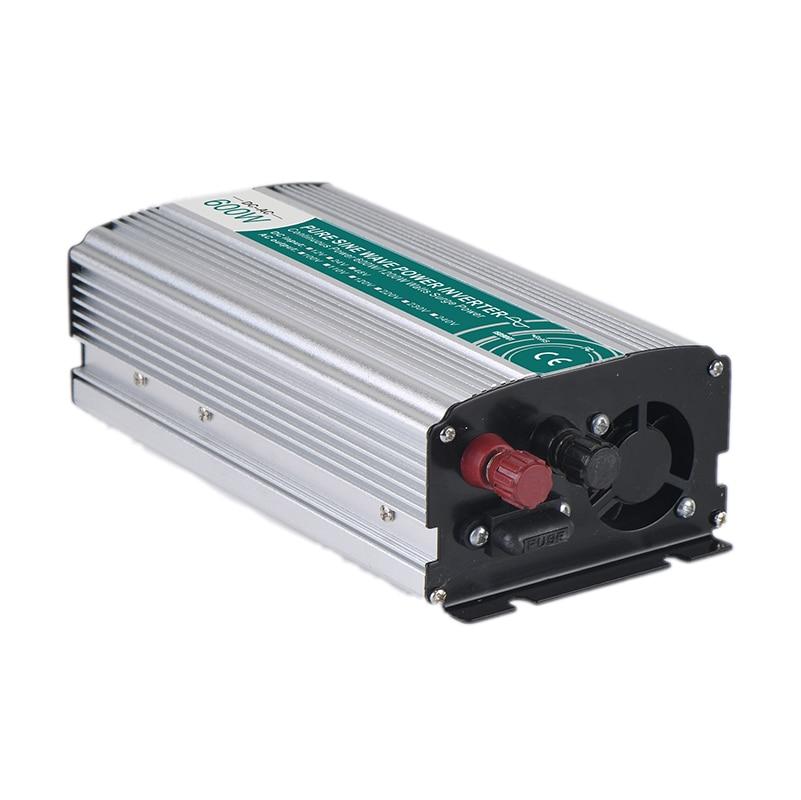 600W Pure Sine Wave Inverter DC 12V 24V 48V To AC 110V 220V Car Inverter Solar Inverter DC to AC Head Converter600W Pure Sine Wave Inverter DC 12V 24V 48V To AC 110V 220V Car Inverter Solar Inverter DC to AC Head Converter