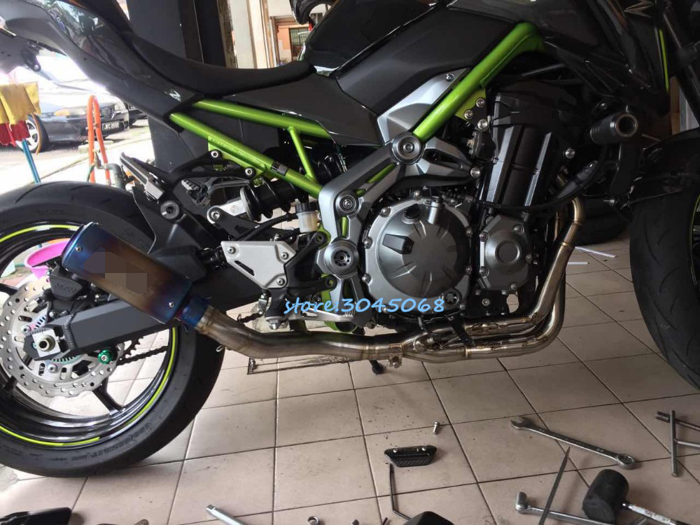 buy z900 motorcycle exhaust full system. Black Bedroom Furniture Sets. Home Design Ideas