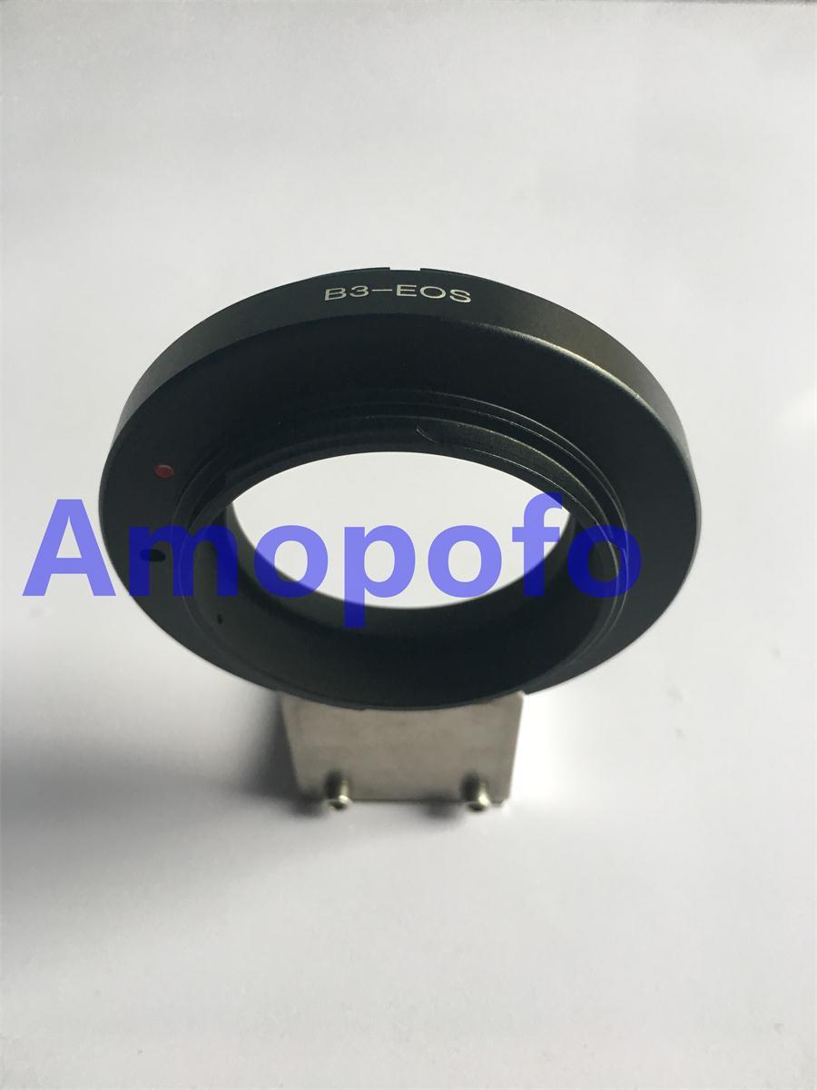 Adaptateur Amopofo B3-EF pour objectif Canon f B3 d'ikegami 2/3
