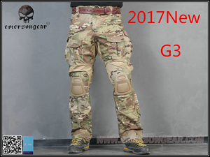 Image 4 - men Camouflage Hunting Pants Emersongear G3 Multicam Tactical Airsoft Combat Emerson Trousers