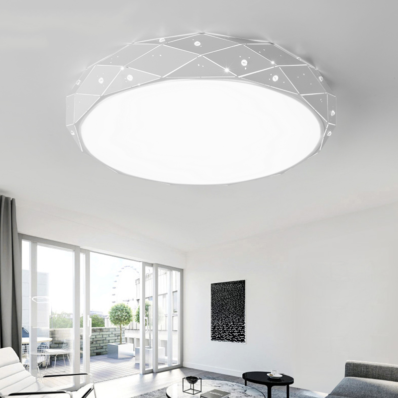 LED ceiling lighting ceiling lamps for the living room LED ceiling light fixtures Bedroom Light Home Deco Lamps for ceiling bqlzr 12 pieces light yellow 30x30x2 5cm home deco sound absorbing panels
