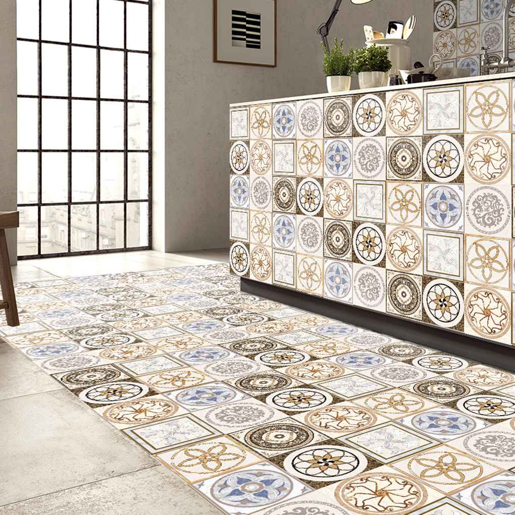 5m Ceramic Tile 3d Printing Film Pvc Floor Contact Paper
