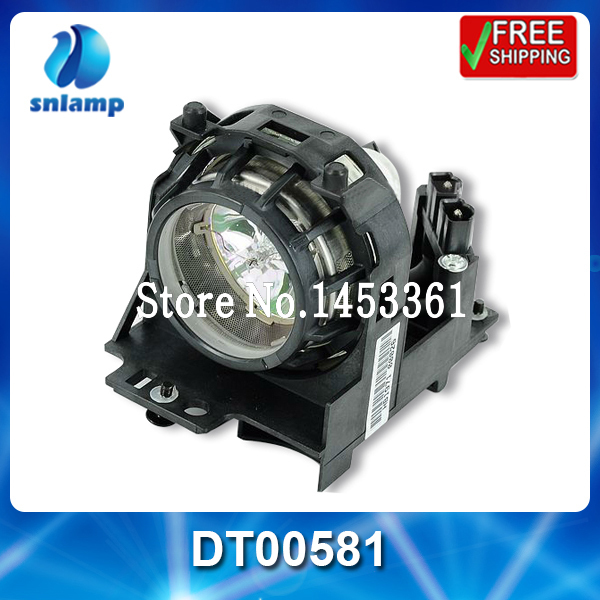 ФОТО Wholesale Compatible projector lamp DT00581 for CP-S210 CP-S210F CP-S210T CP-S210W PJ-LC5   PJ-LC5W