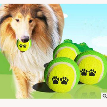 Outdoor Fun Sports Toy Balls Pet Dog Toy Ball Supplies Training Toys 6cm Rubber Tennis Interesting Exercise Your Pets Christmas