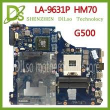 цена на KEFU LA-9631P For Lenovo G500 Laptop motherboard VIWGP/GR LA-9631P REV:1.0 With GPU  HM70 ( Support For Pentium cpu only )