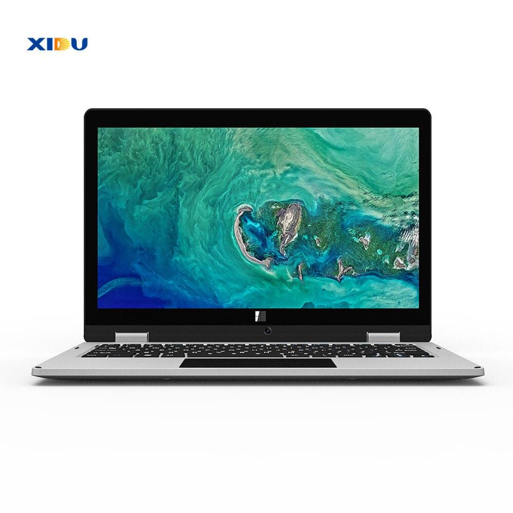 XIDU Windows 10 11.6Inch Laptop Intel Atom Z8350 Notebook Quad Core 64GB Touchscreen 2-in-1 Tablets Mini PC