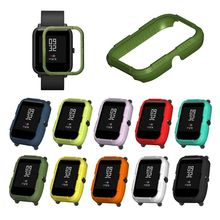 Hard PC Protective Case Cover Protector Frame Shell Replacement for Huami Amazfit Smart Watch Accessories