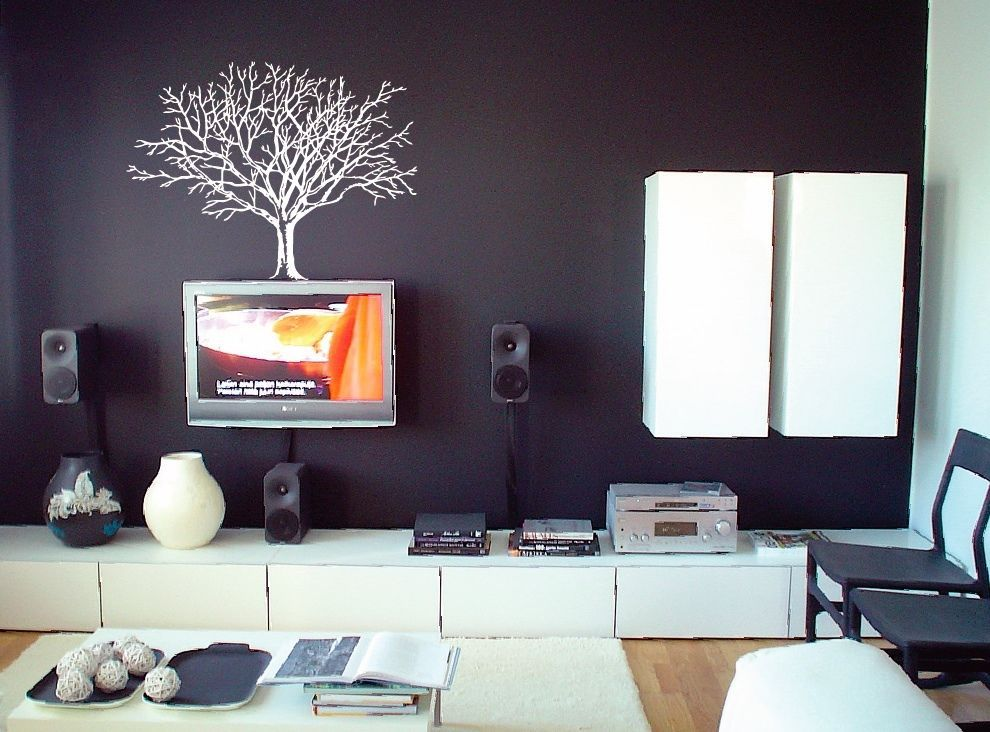 Diy Met Takken : Nieuwe collectie plant boom art vinyl muurtattoo diy verwijderbare