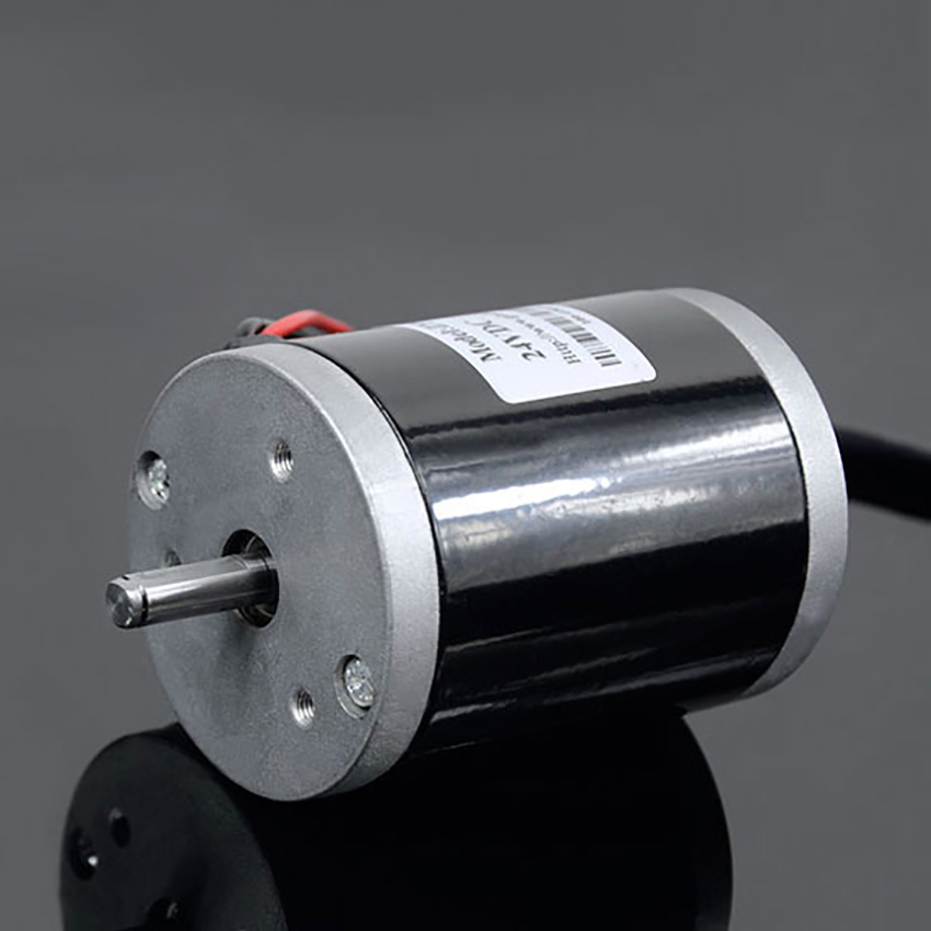 ZGX38REE DC12V 24V High Torque 8mm Shaft Magnetic wheelchair Geared Motor
