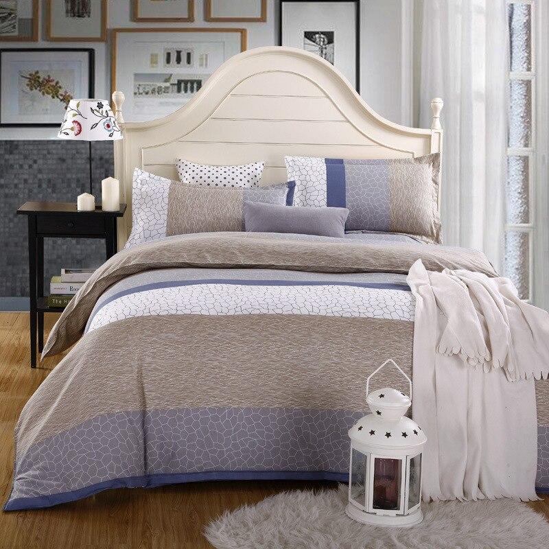 Duvet cover set 1pc duvet cover 1pc bed sheet set 2pc pillowcase full queen king size bedding - Housse de couette king size ...
