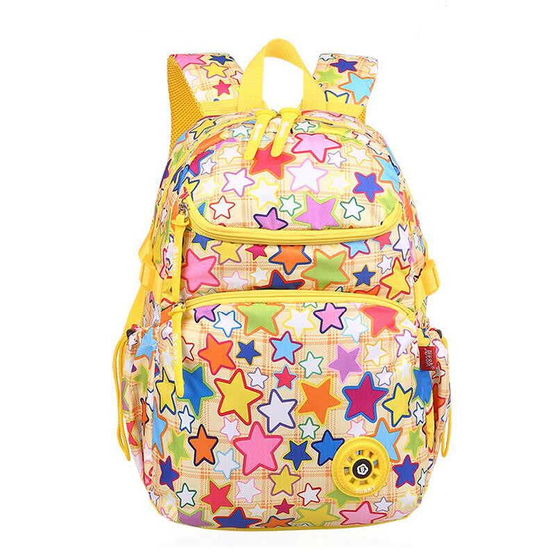 school bags for girls cute yellow star bookbag kids school bag children backpacks waterproof schoolbag girls travel backpack wholesale cute oxford 16 inch landscape black bookbag for teenager boys school bags for children schoolbag for kids shoulder bag