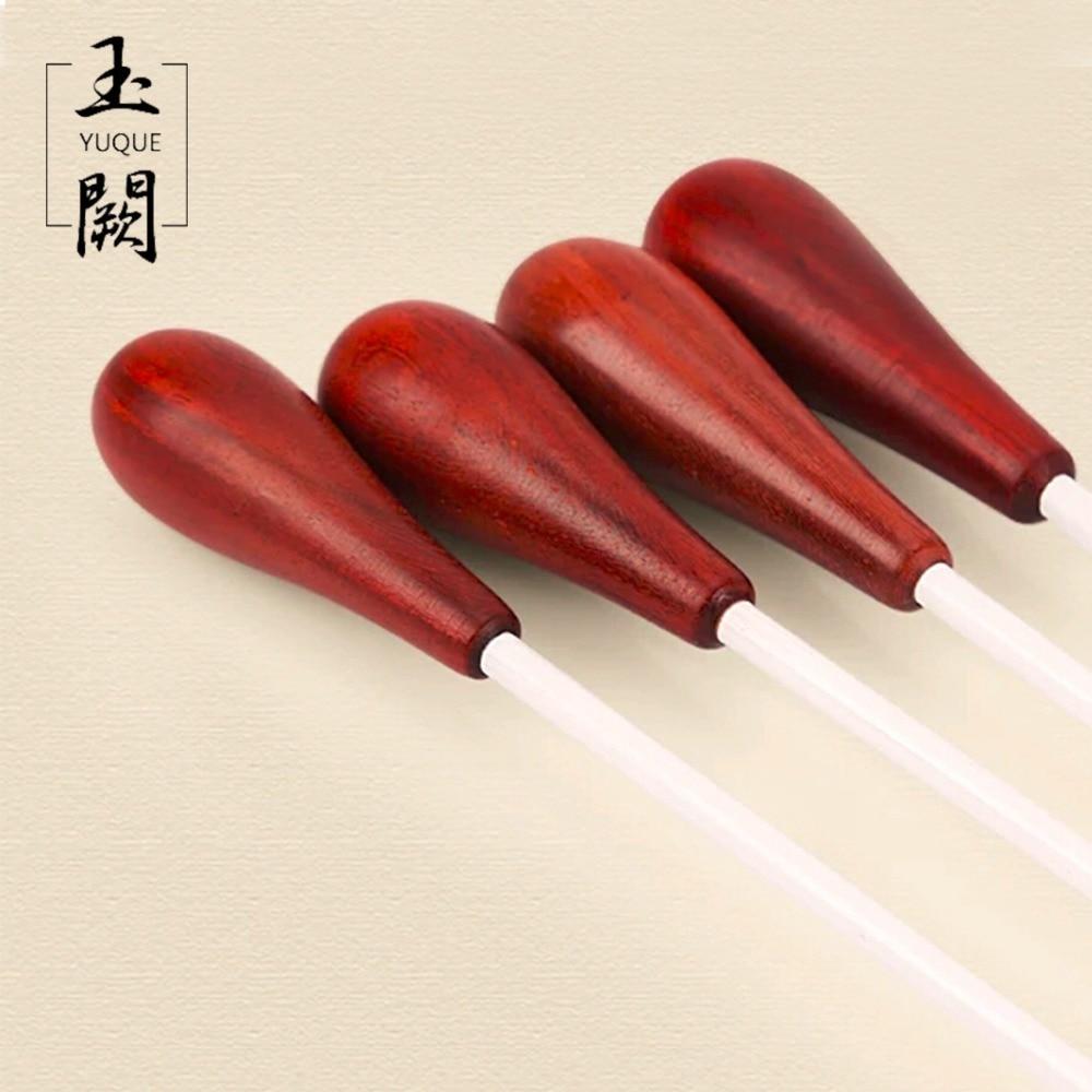 2 UNIDS / LOTE 15 UNIDS / LOTE Bastón de madera Plástico Mango de madera Puntero de acero (conductor dedicado)