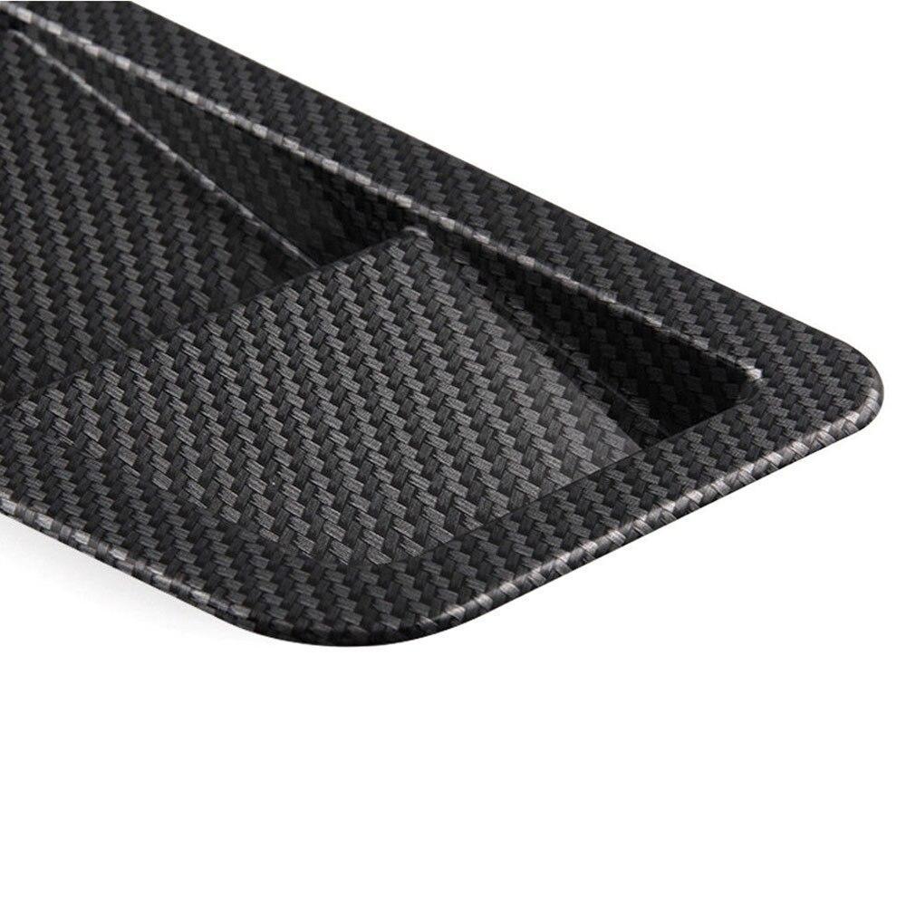 Vehemo автомобили 2 шт. впускной решетка капот вентиляционная решетка декоративные изменение Turbo Совок вентиляционное отверстие крышки капот Vent Крышка