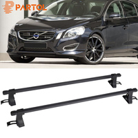 Partol 1 Pair Universal Aluminum 48 Car Roof Rack Cross Bars Crossbars For Kayak Cargo Luggage Ski Rack Mounted On Rooftop