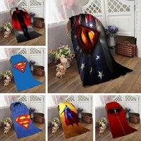 Superman Flag Bath Towel 50 100cm 70 140cm 70 150cm 80 160cm Beach Towels