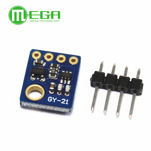 Image 3 - I2C IIC 인터페이스가있는 습도 센서 산업용 고정밀 GY 21 온도 센서 모듈 저전력 CMOS GY 21 HTU21