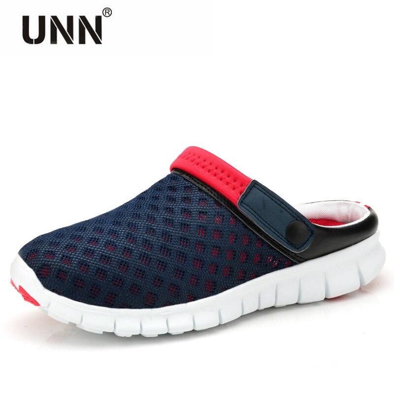 2017 Garden Shoes Sandals Breathable Cool Summer Flat Shoes Tank Hole Shoes Men Fashion Beach Shoes Big Size