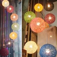 כרומטית גפן כדור אור מנורת תקרת חדר אוכל בר קפה קן ציפור