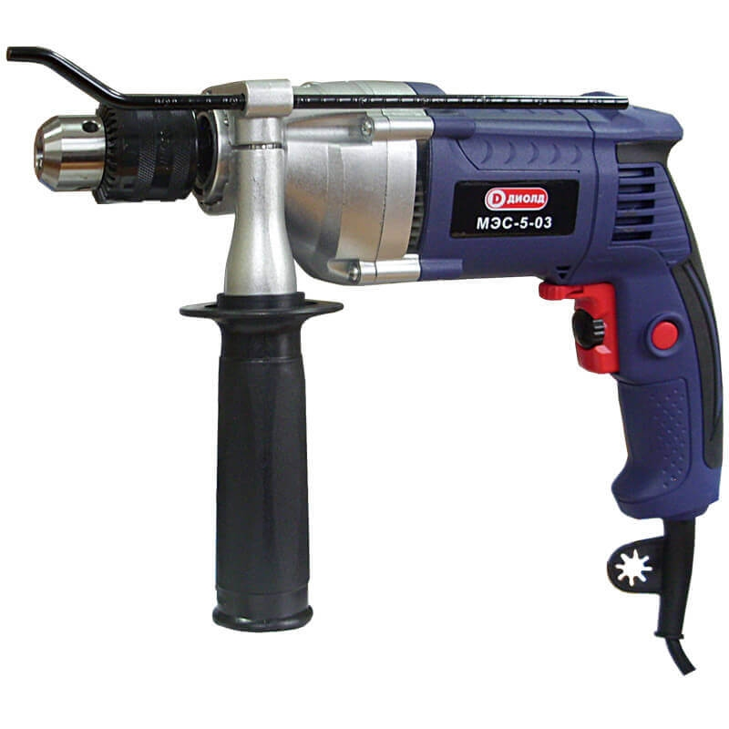Electric drill Diold МЭС-5-03 (Power 800 W, speed from 0 to 1200 rpm) machine drill sturm bd7045 power 450 w cartridge from 0 to 16mm speed from 280 to 2350 rpm