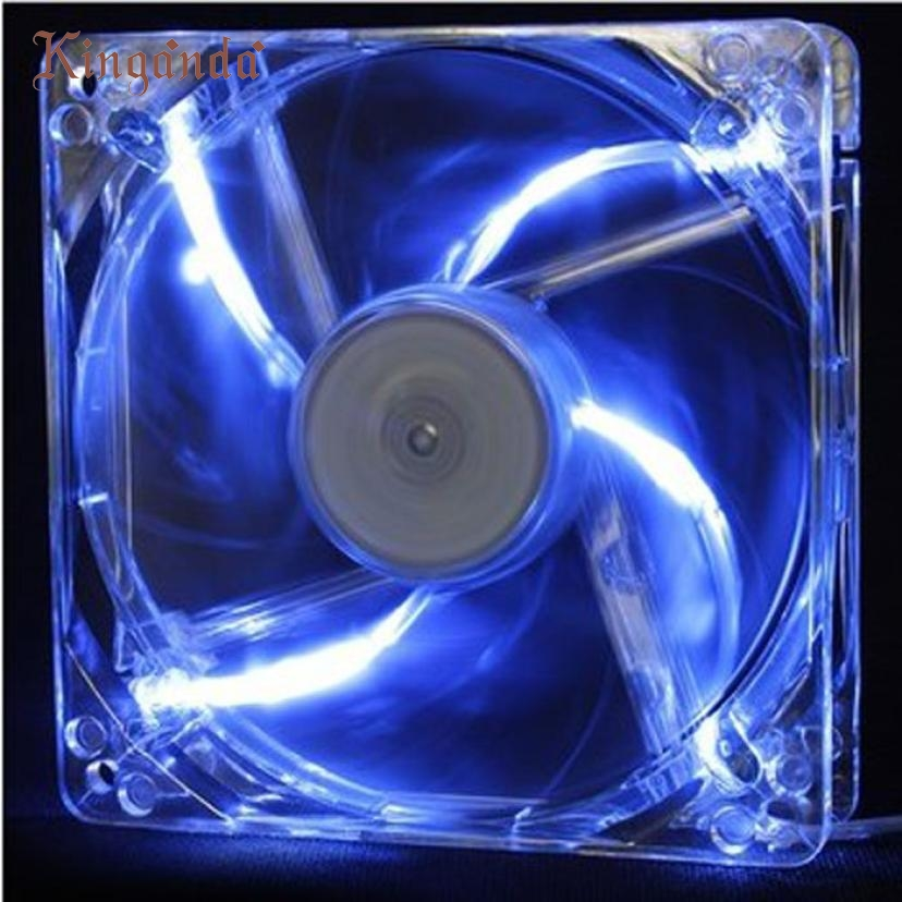 Good sale12cmx12cmx2.5cm New 12025 2Pin 12V Computer PC CPU Silent Cooling Case Fan Free shipping Dec 19