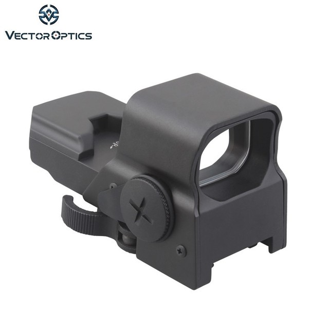 Vector Optics Omega Tactical 8 Reticle Reflex Red Dot Sight In