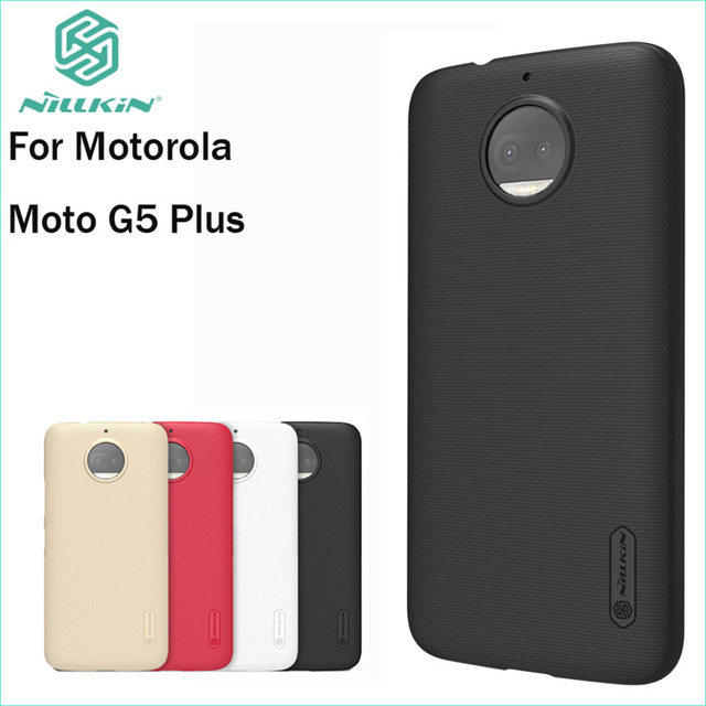 reputable site 5a6ac 266e1 US $7.19 10% OFF|For Motorola Moto G5S Plus Cover Case Nillkin Case For  Moto G5S Plus Hight Quality Super Frosted Shield-in Fitted Cases from ...