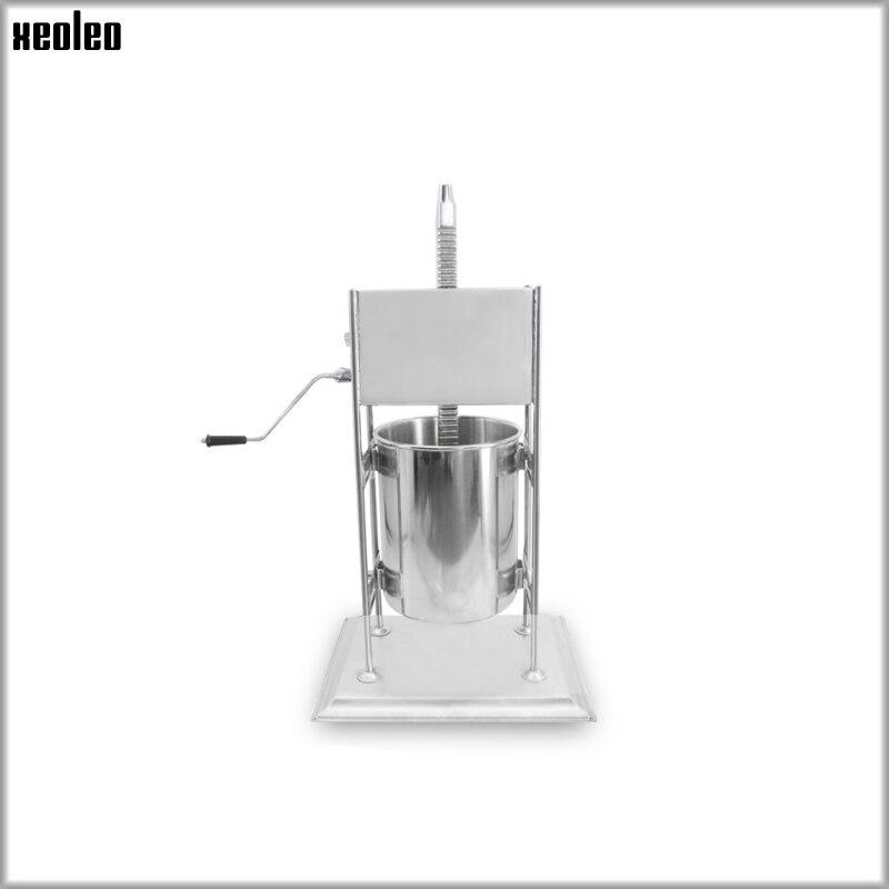 XEOLEO 7L Churros faisant la machine de remplissage de fruits Latin Gigi machine de remplissage de fruits équipement automatique Commercial d'acier inoxydable - 3