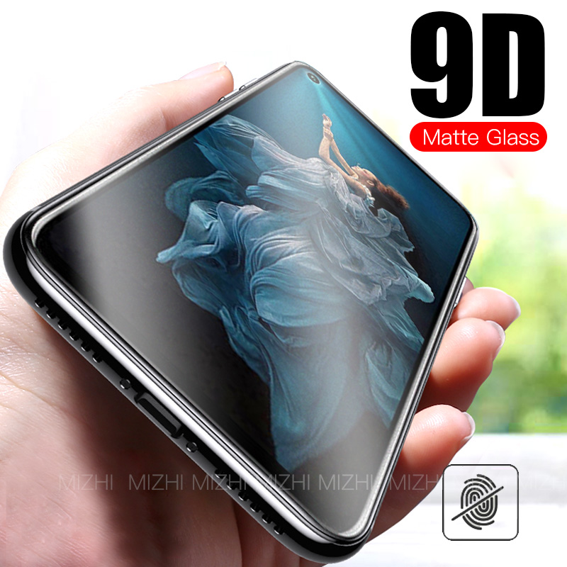 9D Matte Frosted <font><b>Tempered</b></font> <font><b>Glass</b></font> For Huawei <font><b>Honor</b></font> 20 <font><b>Pro</b></font> 8x 8a 8s 8a 20Pro Protective Glas On P30 Lite Y5 Y6 2019 Anti-fall Film image