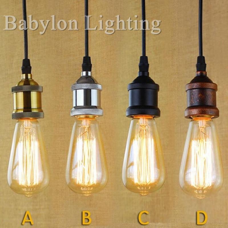 Hanging Light Bulb Socket