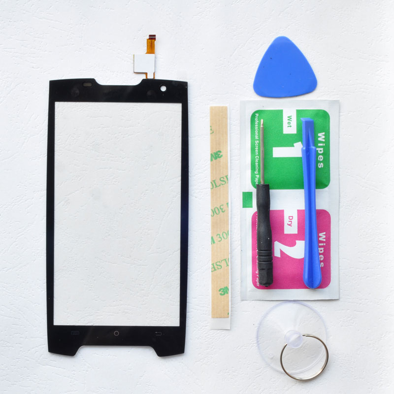 BINYEAE Touch Screen For Cubot King Kong Digitizer Touch Panel Glass Lens Sensor Free Tools+Adhesive Kingkong Replacement Par