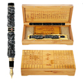 JinHao перьевая ручка Ретро Дракон металл 0.5 мм чернильная ручки для письма канцелярия принадлежности коллекция