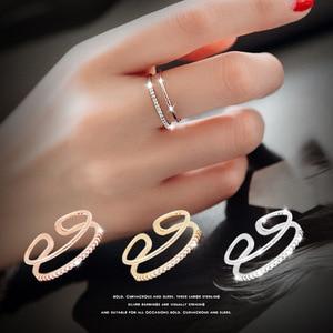Korean Fashion 925 Sterling Si