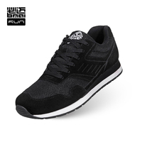 BMAI Cushioned Running Shoes Woman Zapatillas Deportivas Hombre Mujer Breathable Mesh Outdoor Sports Sneakers Shoes Lovers